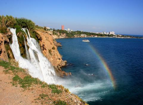 waterfalls and island tour antalya